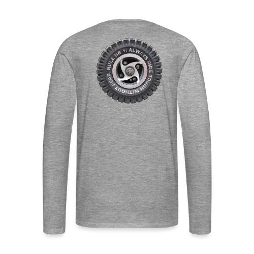 toughwheels - Mannen Premium shirt met lange mouwen
