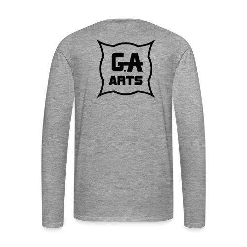 G.A.Arts - T-shirt manches longues Premium Homme