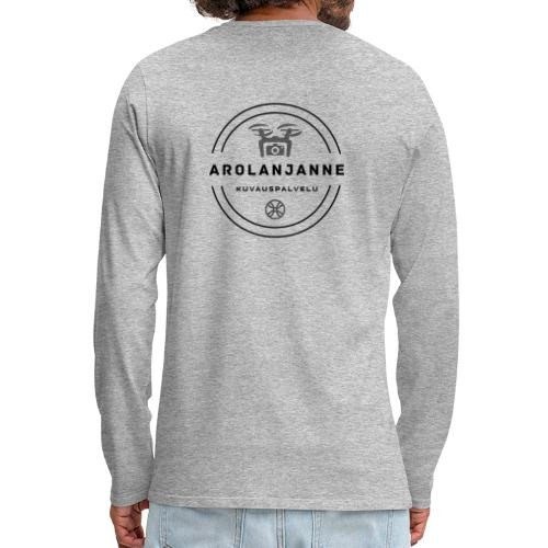 Janne Arola - kuva takana - Miesten premium pitkähihainen t-paita