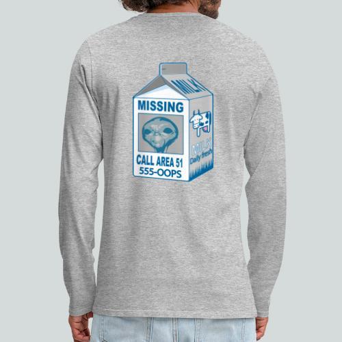 Missing: alien - T-shirt manches longues Premium Homme