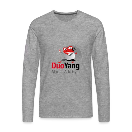 Logo1DUO-YANG Martial Art - Männer Premium Langarmshirt