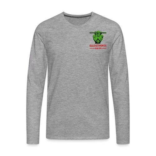 kalosthenosnmgn - Mannen Premium shirt met lange mouwen