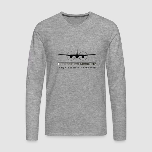 TPM_Mossie_Nose_on - Men's Premium Longsleeve Shirt