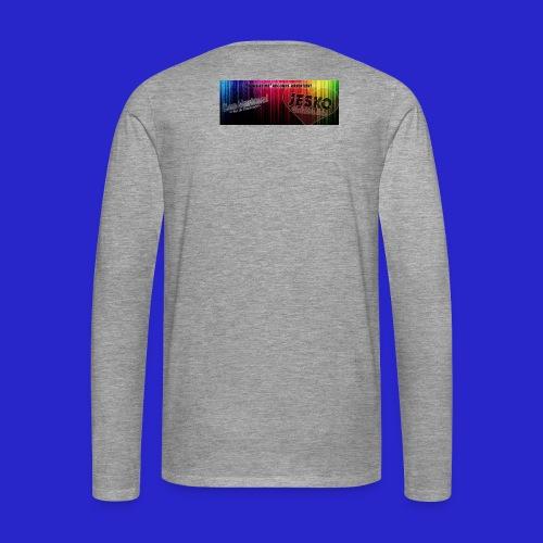 label jpg - Männer Premium Langarmshirt