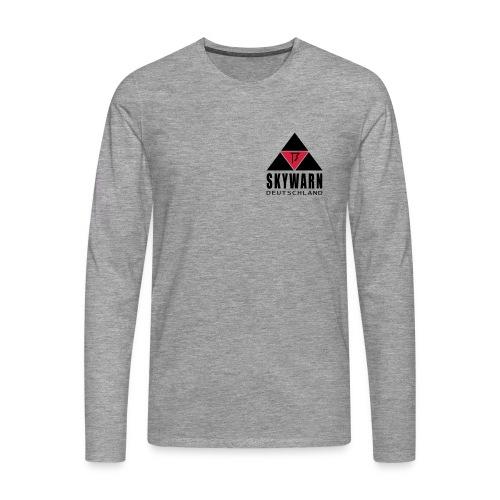 skywarn vector klein - Männer Premium Langarmshirt