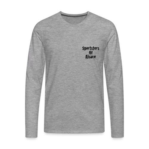 New_logo_poitrine2 - T-shirt manches longues Premium Homme