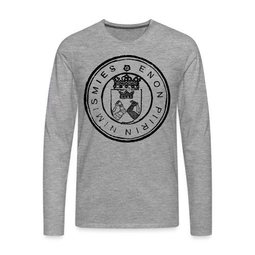Enon piirin nimismies - Miesten premium pitkähihainen t-paita