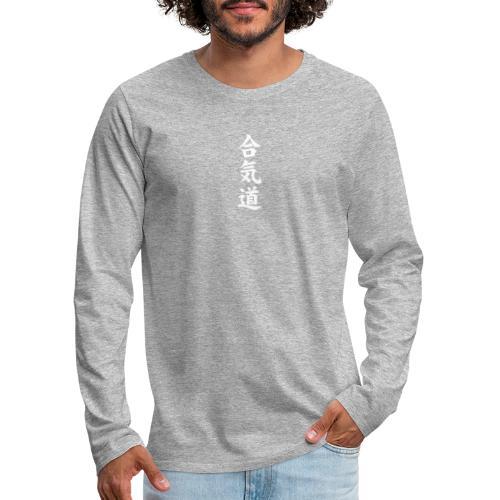 Jonte logo - Långärmad premium-T-shirt herr