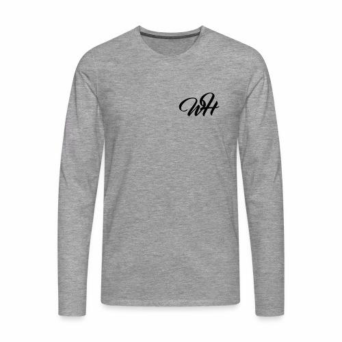 Basic logo - Herre premium T-shirt med lange ærmer