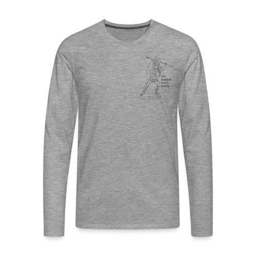 WARRIOR - Maglietta Premium a manica lunga da uomo