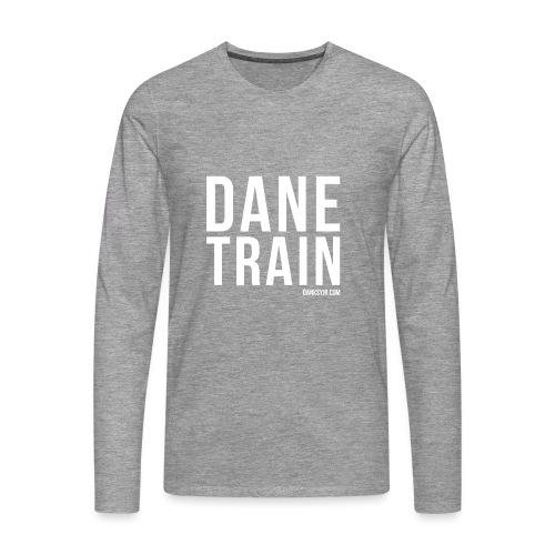 THE DANE TRAIN - Männer Premium Langarmshirt