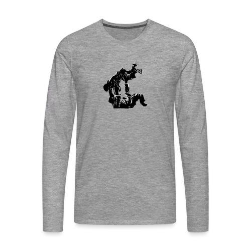 Jutsu v2 - Mannen Premium shirt met lange mouwen