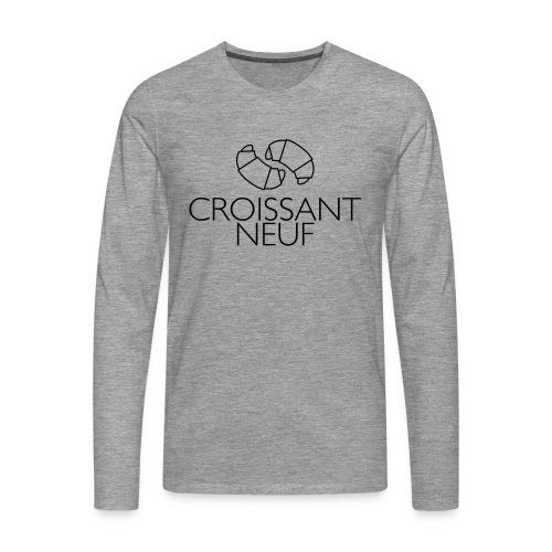Croissaint Neuf - Mannen Premium shirt met lange mouwen