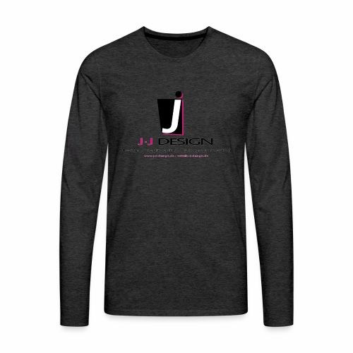LOGO_J-J_DESIGN_FULL_for_ - Herre premium T-shirt med lange ærmer