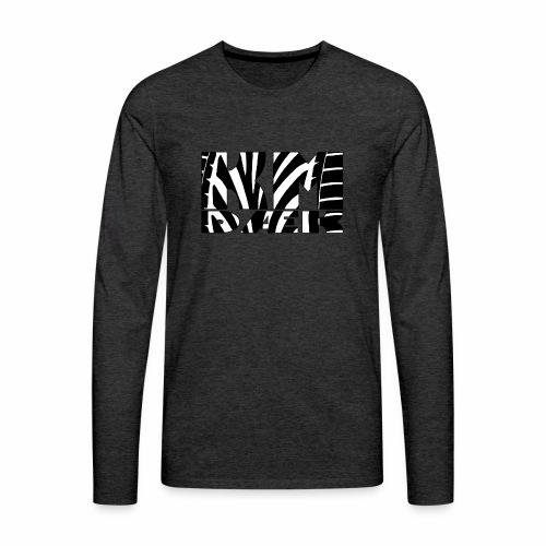 KM_black - Herre premium T-shirt med lange ærmer