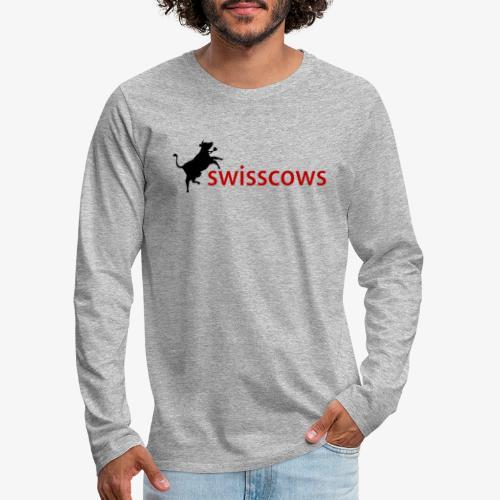 Swisscows - Männer Premium Langarmshirt