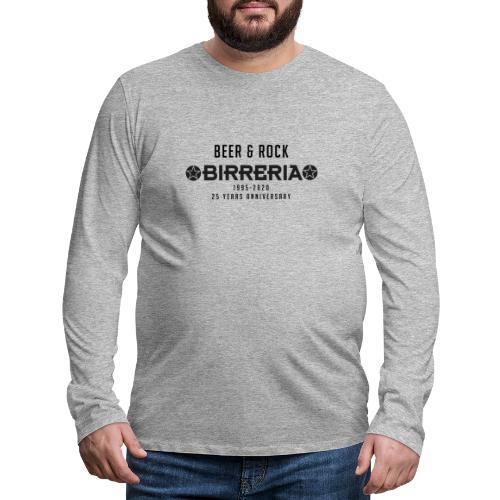 Birreria Logo Classic Anniversary - Männer Premium Langarmshirt