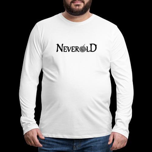 logo en ligne - T-shirt manches longues Premium Homme