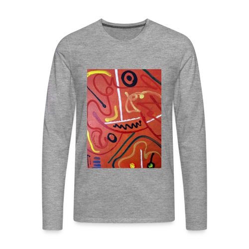 Antonius' Afrika2 - Camiseta de manga larga premium hombre