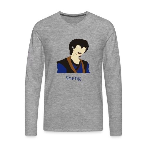 Sheng Canon - Herre premium T-shirt med lange ærmer