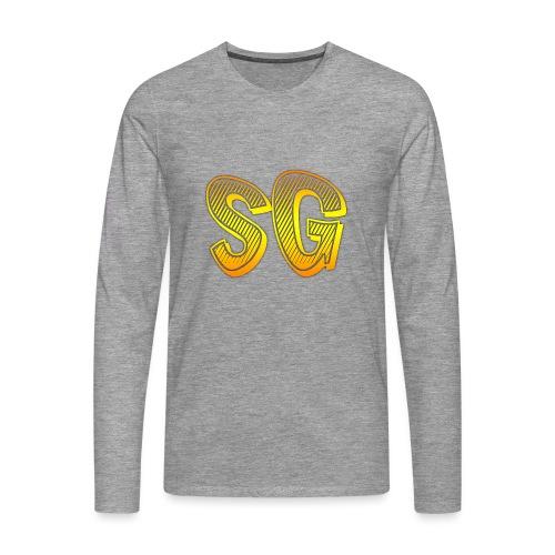 SG Donna - Maglietta Premium a manica lunga da uomo