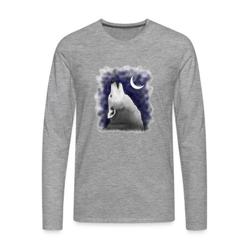 Wolf - Men's Premium Longsleeve Shirt