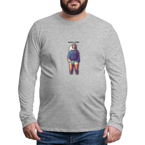 Save a Tyrone Foundation T-Shirts - Men's Premium Longsleeve Shirt