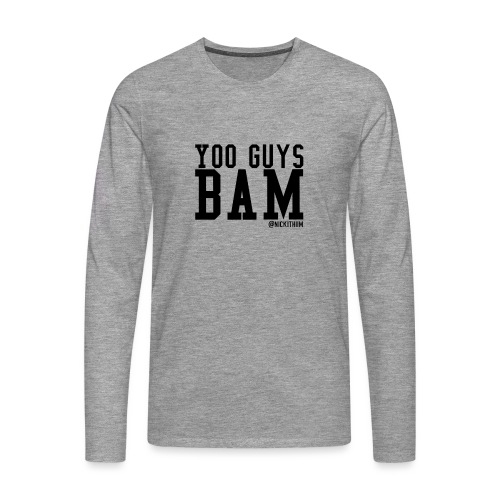 BAM! - Männer Premium Langarmshirt