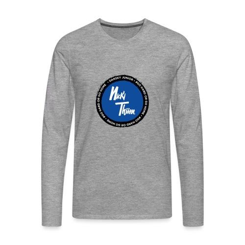 Classic Logo - Männer Premium Langarmshirt