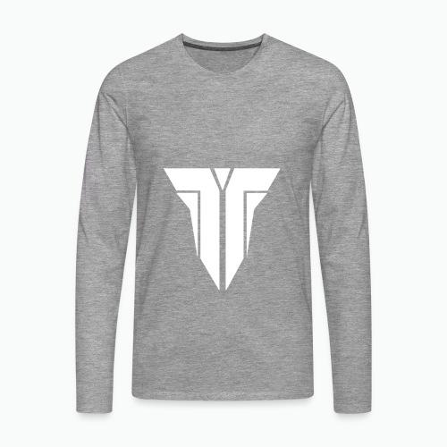 logo teppix shop copy PNG - Mannen Premium shirt met lange mouwen