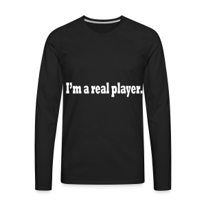 PLAYER - Men's Premium Longsleeve Shirt