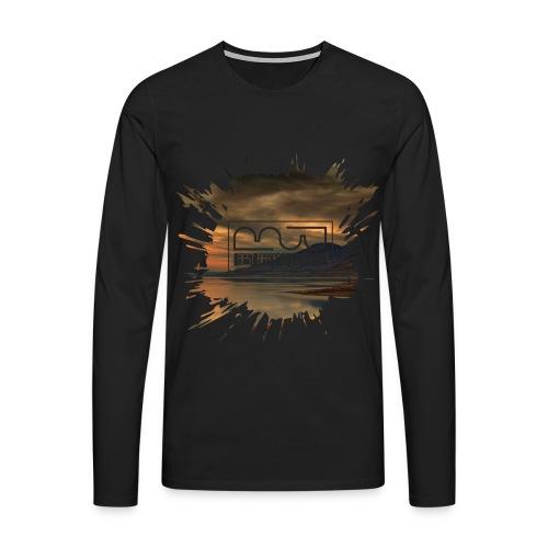 Men's shirt Splatter - Men's Premium Longsleeve Shirt