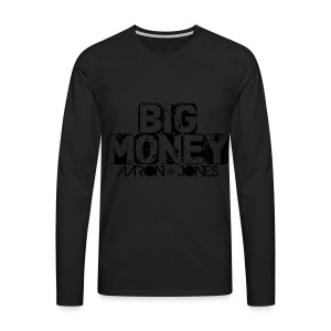 Big Money aaron jones - Maglietta Premium a manica lunga da uomo