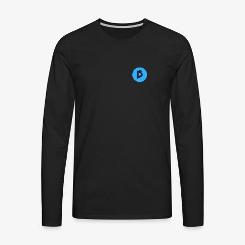 Danthee Heren - Mannen Premium shirt met lange mouwen
