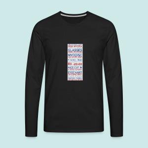 Myopia Poster 3 - T-shirt manches longues Premium Homme