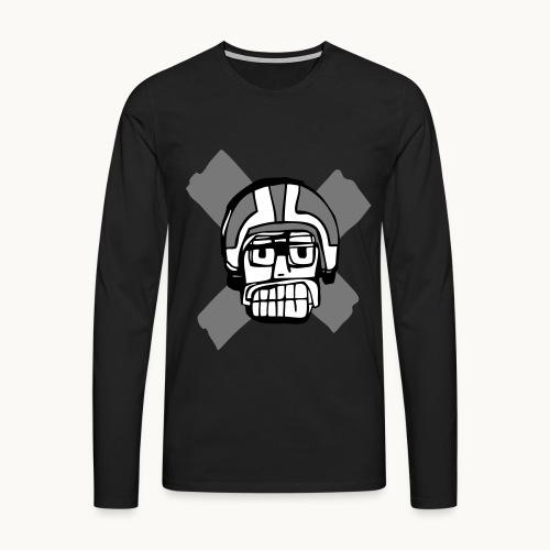 Motard Junior - BlackAndWhite - T-shirt manches longues Premium Homme