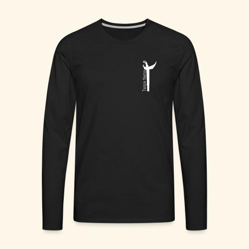 Tanpa Nama Kris - Mannen Premium shirt met lange mouwen