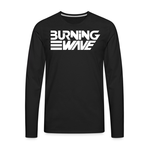 Burning Wave Block - T-shirt manches longues Premium Homme