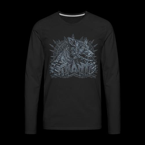 khasm Fenris crest - T-shirt manches longues Premium Homme