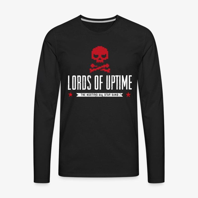 Lords of Uptime - Männer Premium Langarmshirt