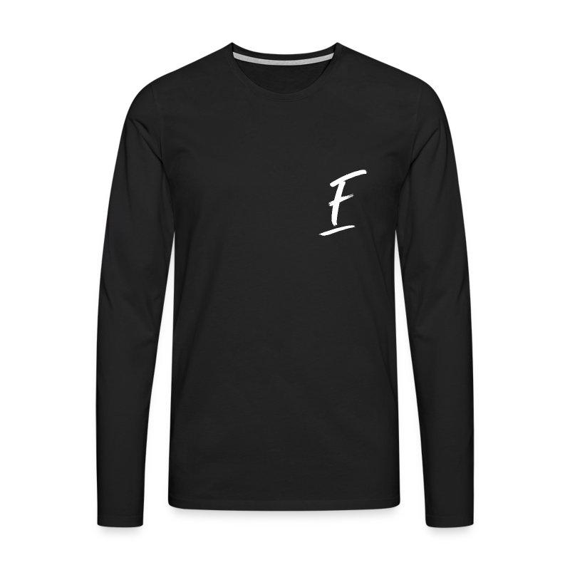 Radio Fugue F Blanc - T-shirt manches longues Premium Homme