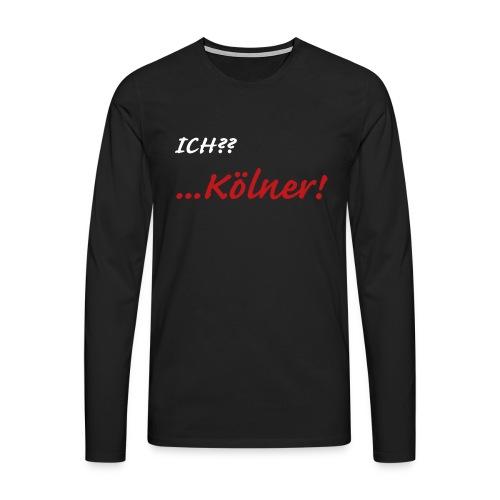 Kölner - Männer Premium Langarmshirt