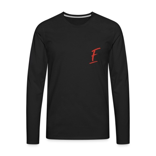 Radio Fugue F Rouge - T-shirt manches longues Premium Homme