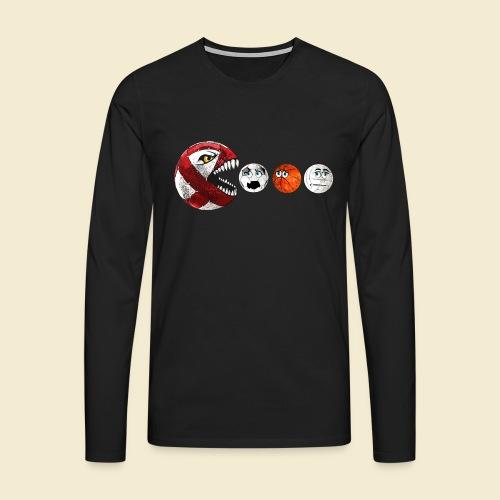 Radball | Cycle Ball RedMan - Männer Premium Langarmshirt
