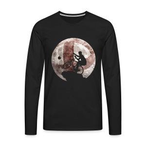 Radball | Moon - Männer Premium Langarmshirt