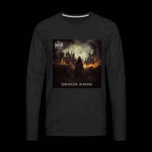 Jerusalem Burning - Men's Premium Longsleeve Shirt