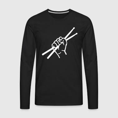 batteur - T-shirt manches longues Premium Homme