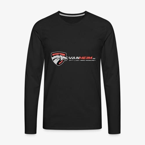 Vanheim liten - Långärmad premium-T-shirt herr