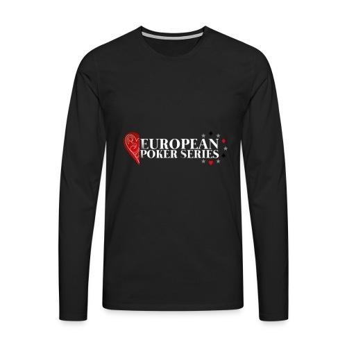 European Poker Series - T-shirt manches longues Premium Homme