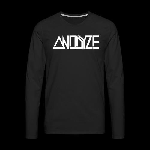 ANODYZE Standard - Männer Premium Langarmshirt